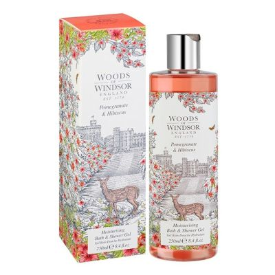 Гель для душа Woods of Windsor Pomegranate & Hibiscus, 250мл