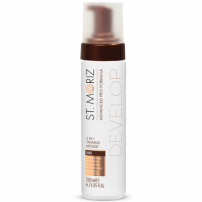 Мусс-автозагар для тела St.Moriz Advanced Pro Tanning Mousse 5 in 1 Dark, 200 мл