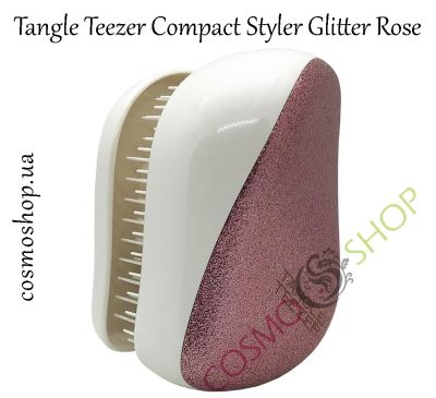 Гребінець Tangle Teezer Compact Styler Glitter Rose