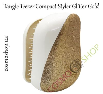 Гребінець Tangle Teezer Compact Styler Glitter Gold