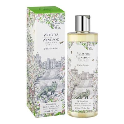 Гель для душа Woods of Windsor White Jasmine, 250мл
