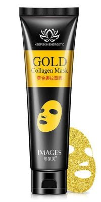 Маска для лица BioAqua Gold Collagen Mask