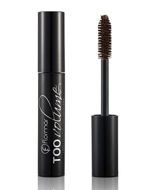 Туш для вій Flormar Too Volume Mascara, Too Black