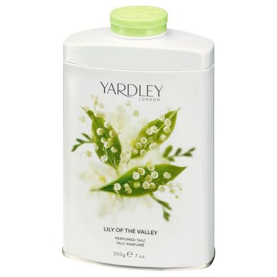 Тальк для тіла Yardley Lily of the Valley, 200г