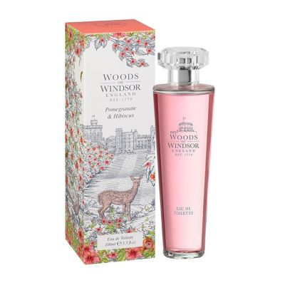 Туалетная вода Woods of Windsor Pomegranate & Hibiscus, 100мл