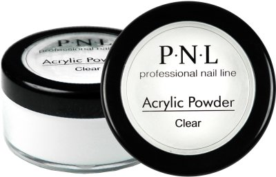 Акрилова пудра прозора PNL Acrylic Powder, 20 гр