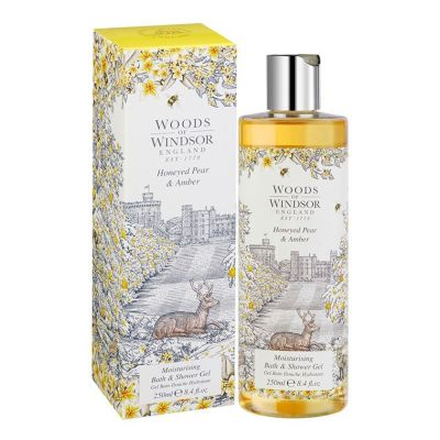 Гель для душа Woods of Windsor Honeyed Pear & Amber, 250мл