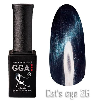 "Гель-лак ""Кошачий глаз"" GGA Professional Cat's Eye - 026"