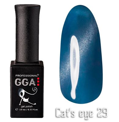 "Гель-лак ""Кошачий глаз"" GGA Professional Cat's Eye - 029"