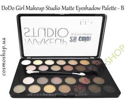 Тіні для повік, 26 відтінків, DoDo Girl Makeup Studio Matte Eyeshadow Palette